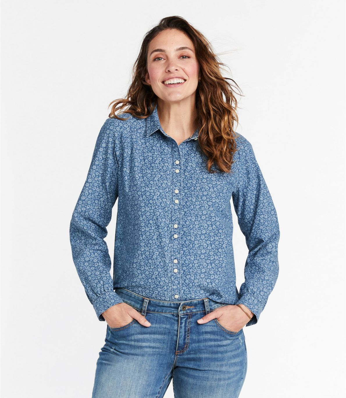 Women's Signature Denim Shirt