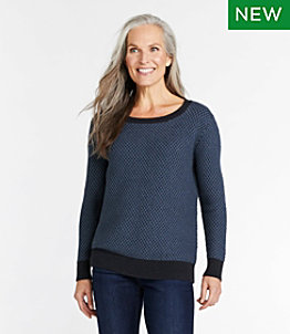 Women's Organic Cotton Sweater, Pullover