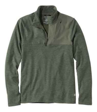Men's VentureStretch Grid Fleece Quarter-Zip