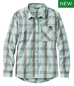 Women's SunSmart™ Shirt Long-Sleeve, Plaid