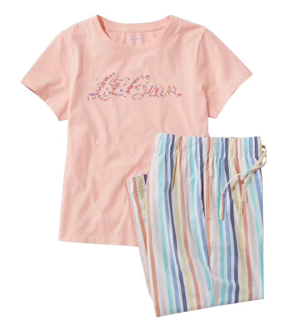 Women's Springtime Sleep PJ Set