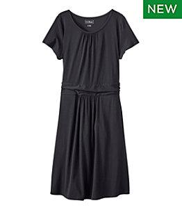 Women's Summer Knit Dress, Scoopneck