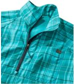 Women's SunSmart™ Shirt, Quarter-Zip Pullover Plaid