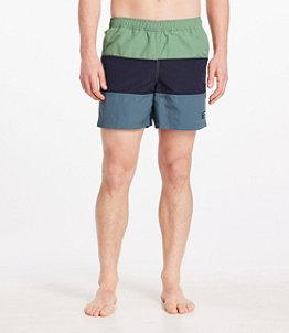 "Men's Classic Supplex Sport Short Colorblock 6"""