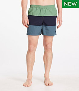 Men's Classic Supplex Sport Short Colorblock 6""