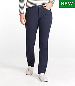 Women's BeanFlex Canvas Pants, Straight-Leg Favorite Fit