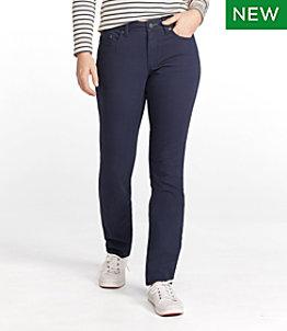 Women's BeanFlex Canvas Pants, Straight-Leg Favorite Fit