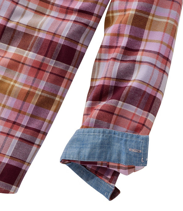 BeanFlex All-Season Flannel Shirt, Pine Forest, large image number 3