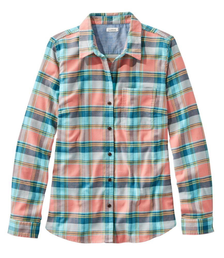 BeanFlex All-Season Flannel Shirt