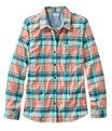 BeanFlex All-Season Flannel Shirt, Dusty Orange, small image number 0