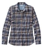 Women's BeanFlex All-Season Flannel Shirt, Long-Sleeve
