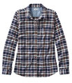 BeanFlex All-Season Flannel Shirt, Classic Navy, small image number 0