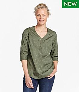 Women's Tencel-Blend Shirt, Print