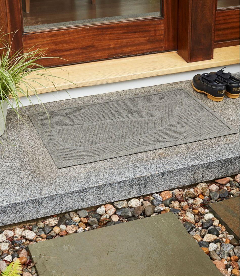 Everyspace Recycled Waterhog Doormat, Swimming Whale