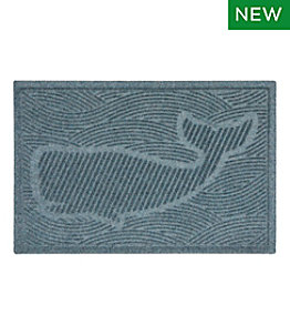 Everyspace Recycled Waterhog Doormat, Swimming Whale