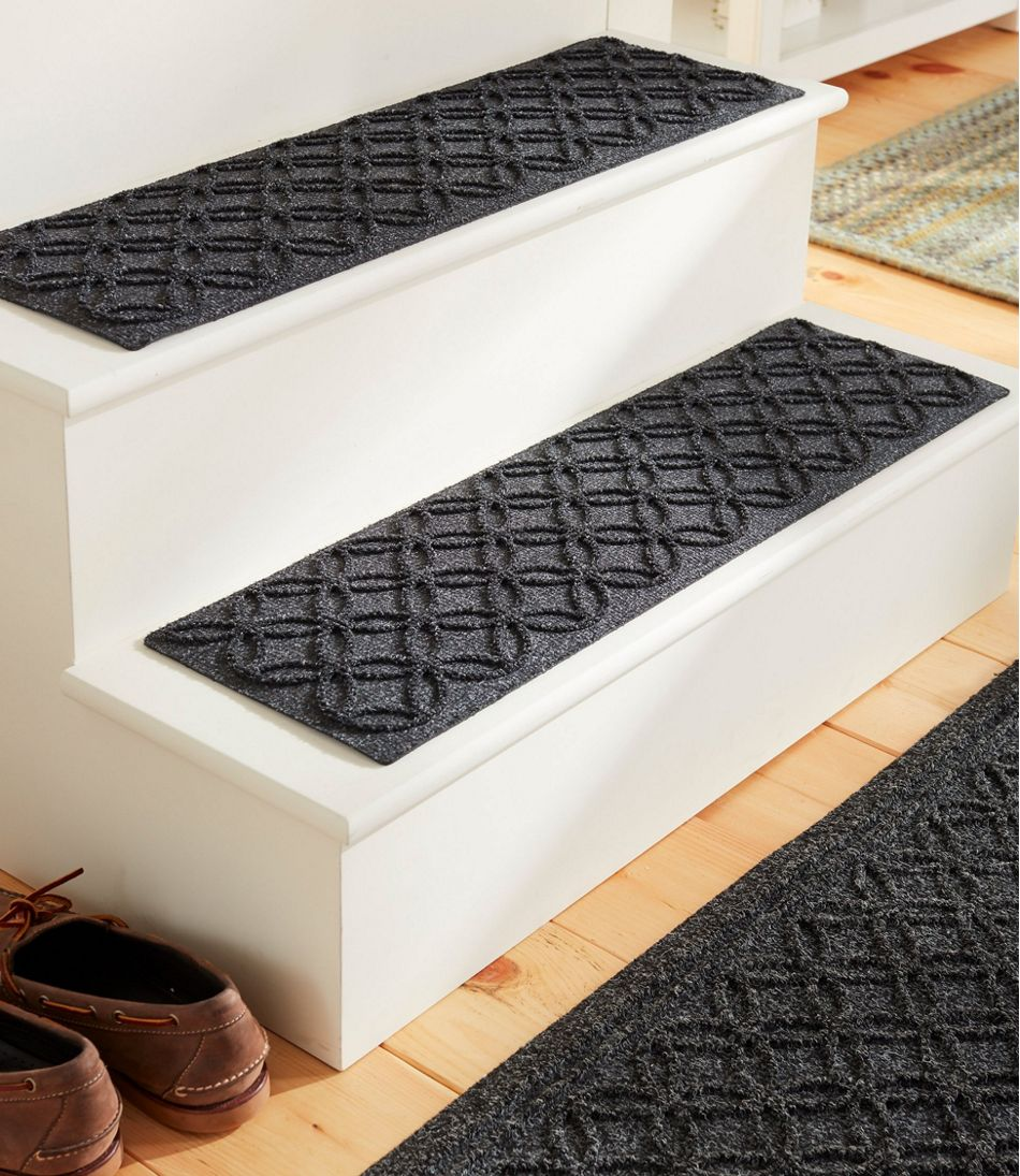 Heavyweight Waterhog Stair Treads, Locked Circles
