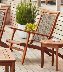 Wicker Eucalyptus Chair