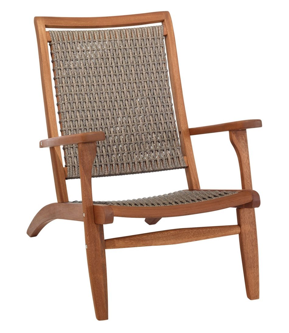 Wicker Eucalyptus Chair