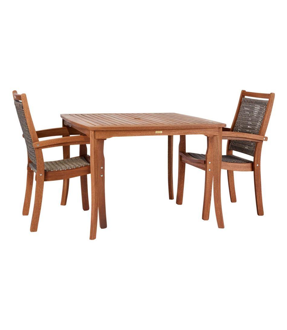 Eucalyptus Square Dining Table