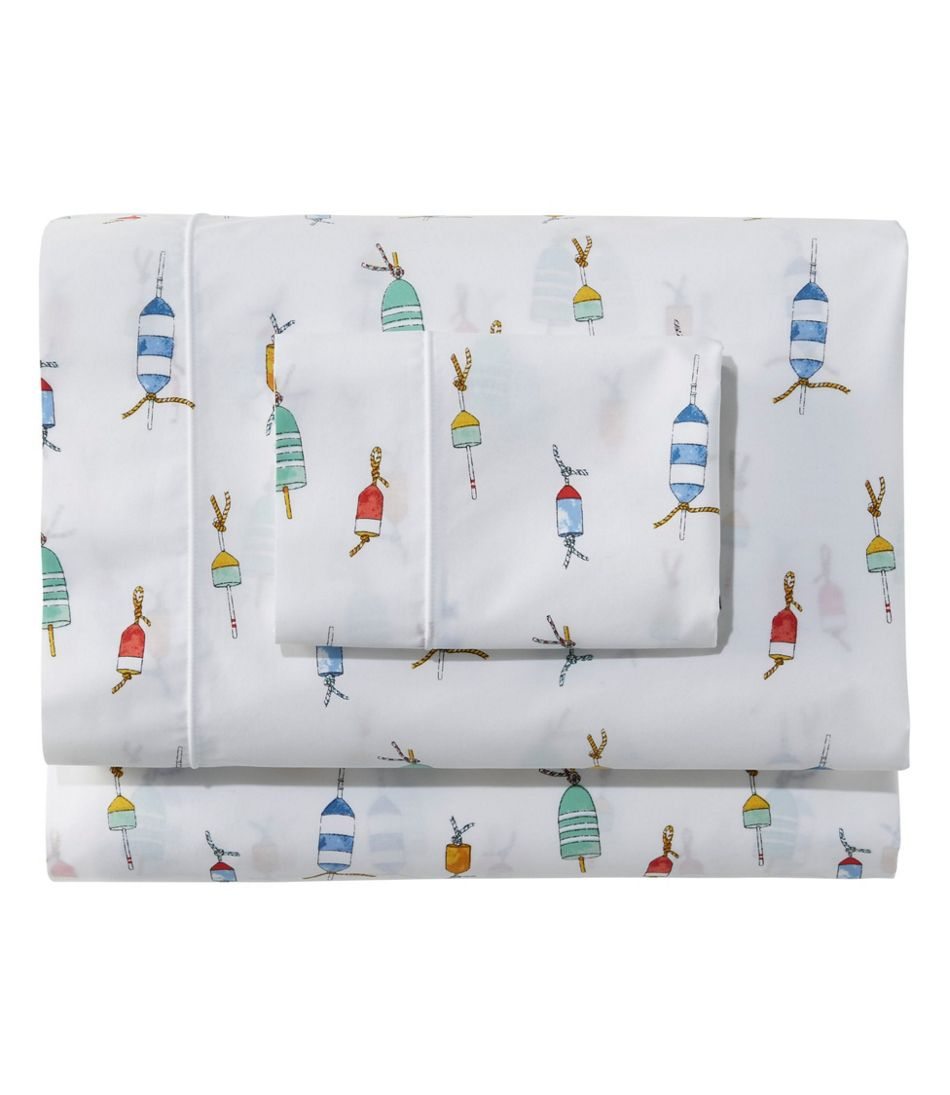 Sara Fitz Buoy Percale Sheet Set Collection