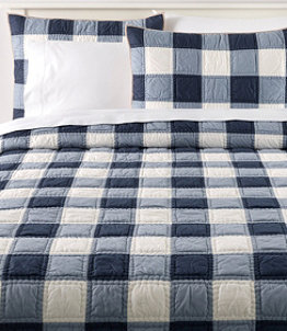 Plaid Patchwork Quilt Collection
