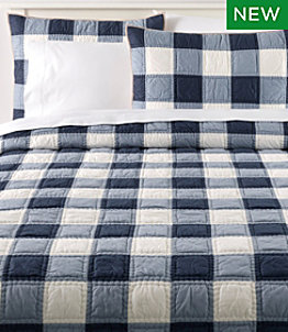 Plaid Patchwork Quilt Collection