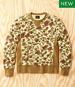 Men's L.L.Bean x Todd Snyder Crewneck Sweatshirt, Print