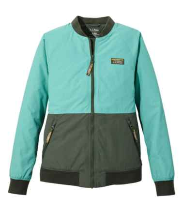 Women's 3-Season Bomber Jacket, Colorblock