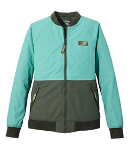 Women's 3-Season Bomber Jacket, Colorblock