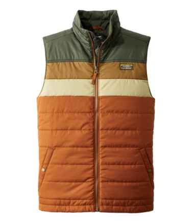 Men's Mountain Classic Puffer Vest, Colorblock