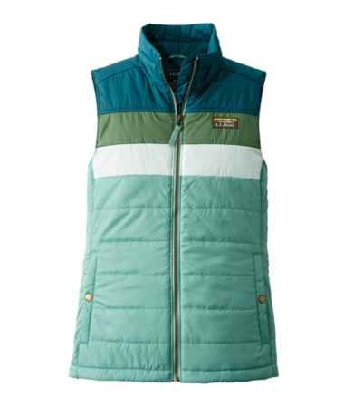 Women's Mountain Classic Puffer Vest, Colorblock