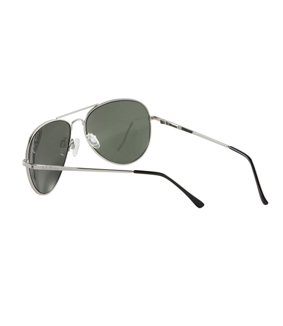 Adults' L.L.Bean Classic Aviator Polarized Sunglasses