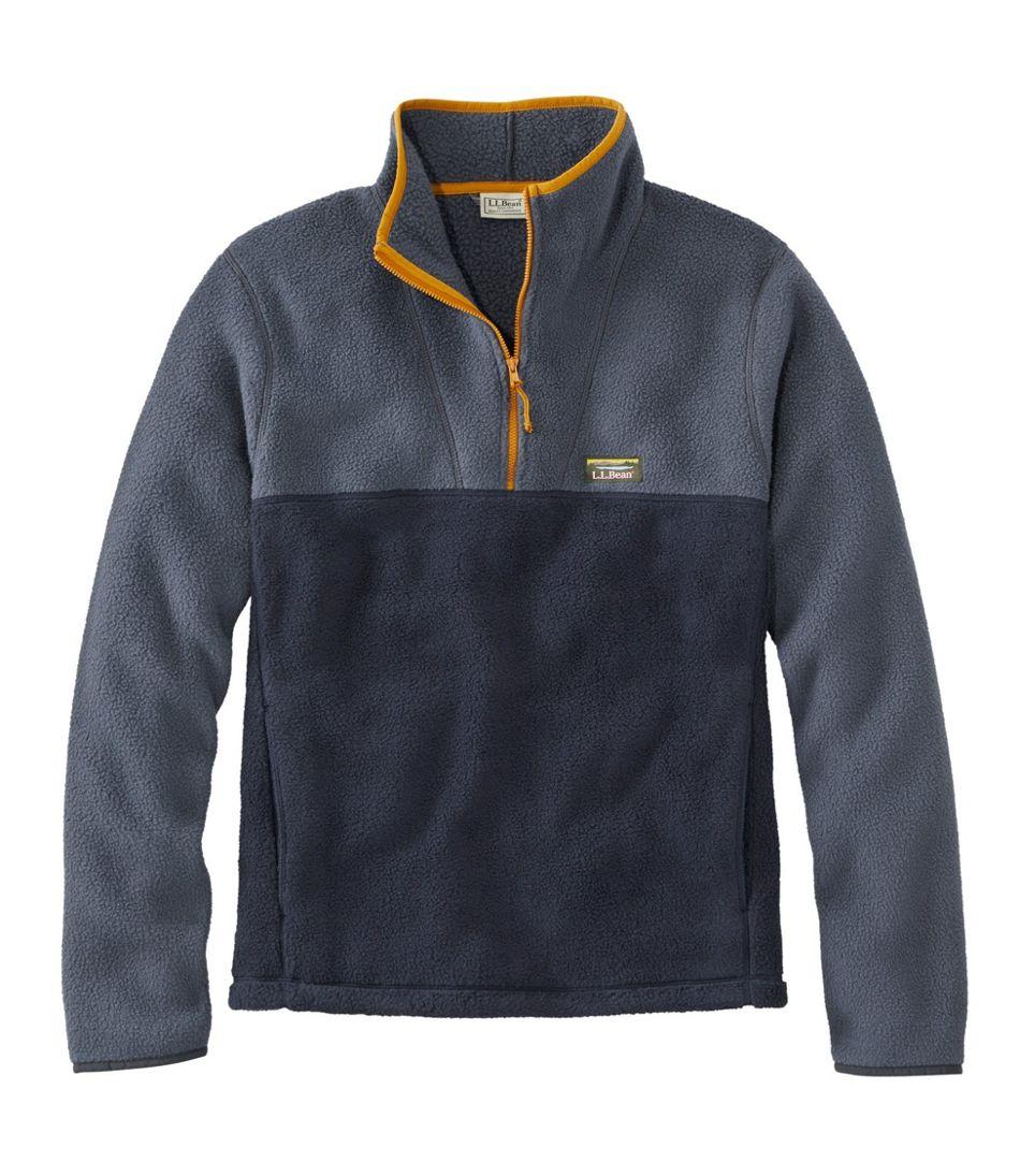 Men's Katahdin Fleece Pullover, Colorblock