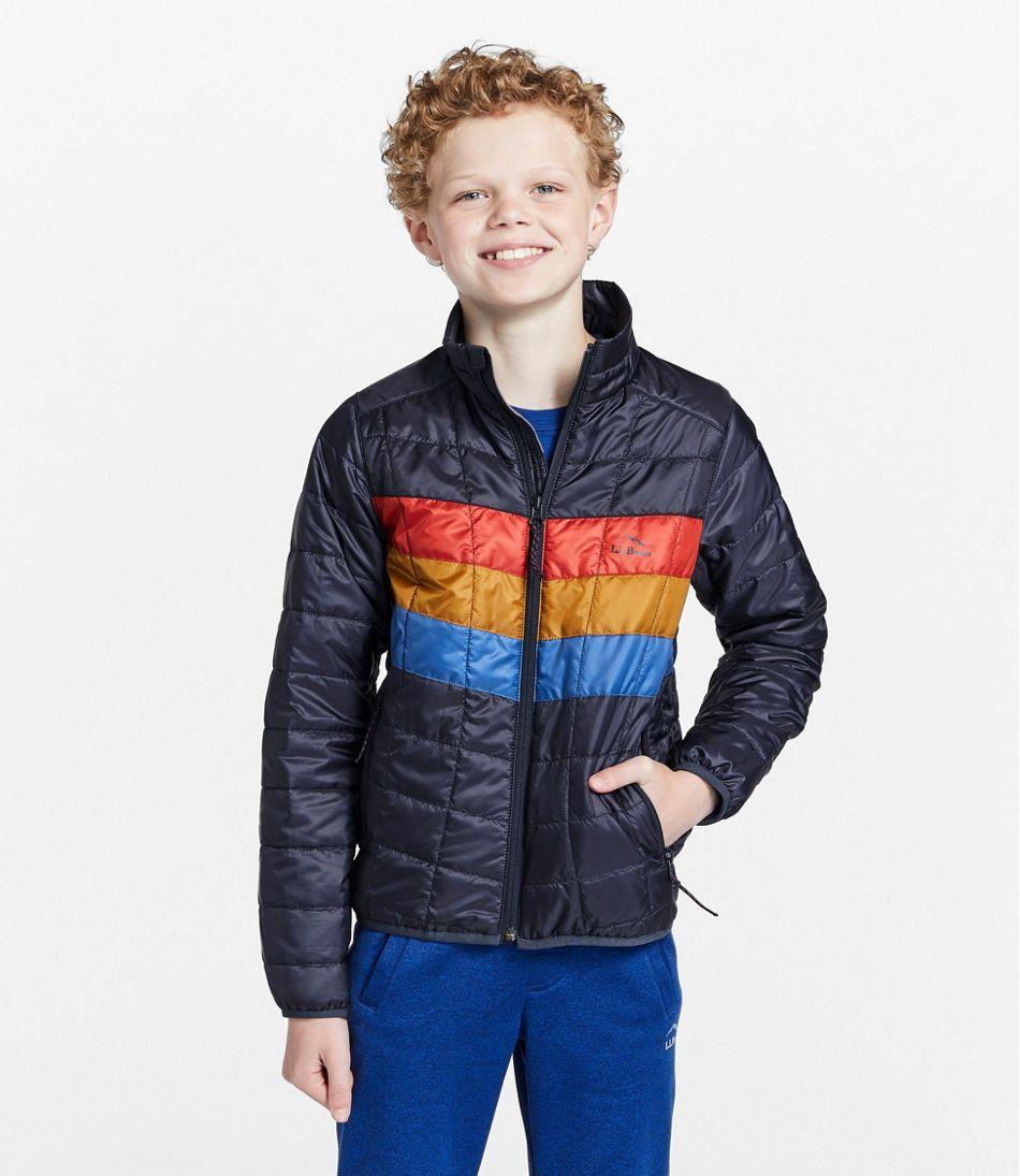 Kids' Primaloft Packaway Jacket, Colorblock