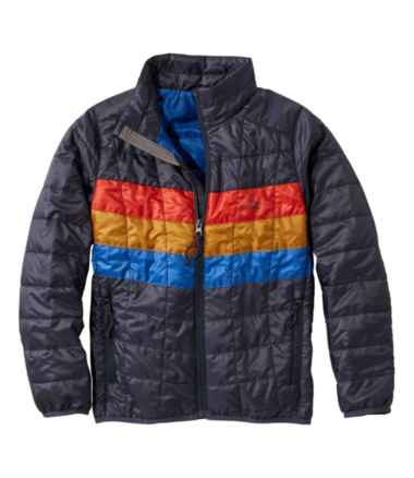 Kids' Primaloft Packaway Jacket, Colorblock