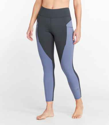 Women's Everyday Performance High-Rise 7/8 Pocket Tights, Colorblock