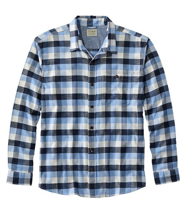 Men's BeanFlex Flannel Shirt, Arctic Blue, large image number 0