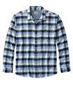 Men's BeanFlex Flannel Shirt, Arctic Blue, small image number 0