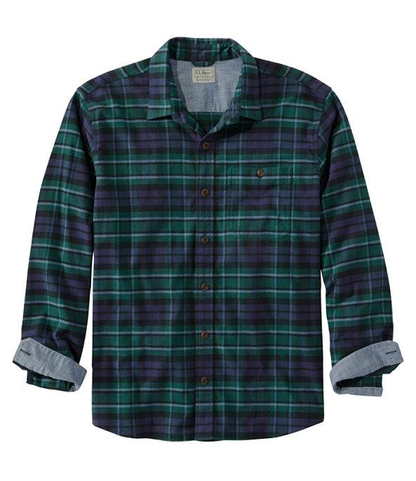 Men's BeanFlex Flannel Shirt, MacCallum, large image number 0
