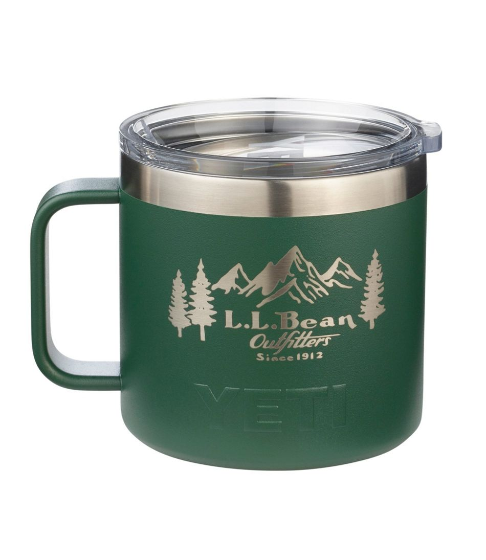 L.L.Bean Yeti Rambler Mug, Outfitter Print