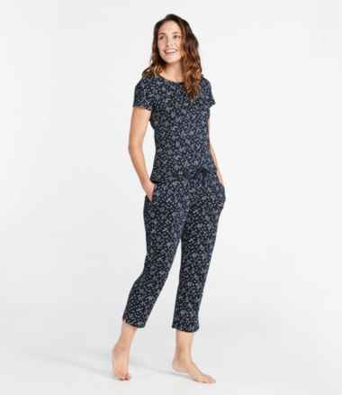 Women's Supima PJ Set, Print