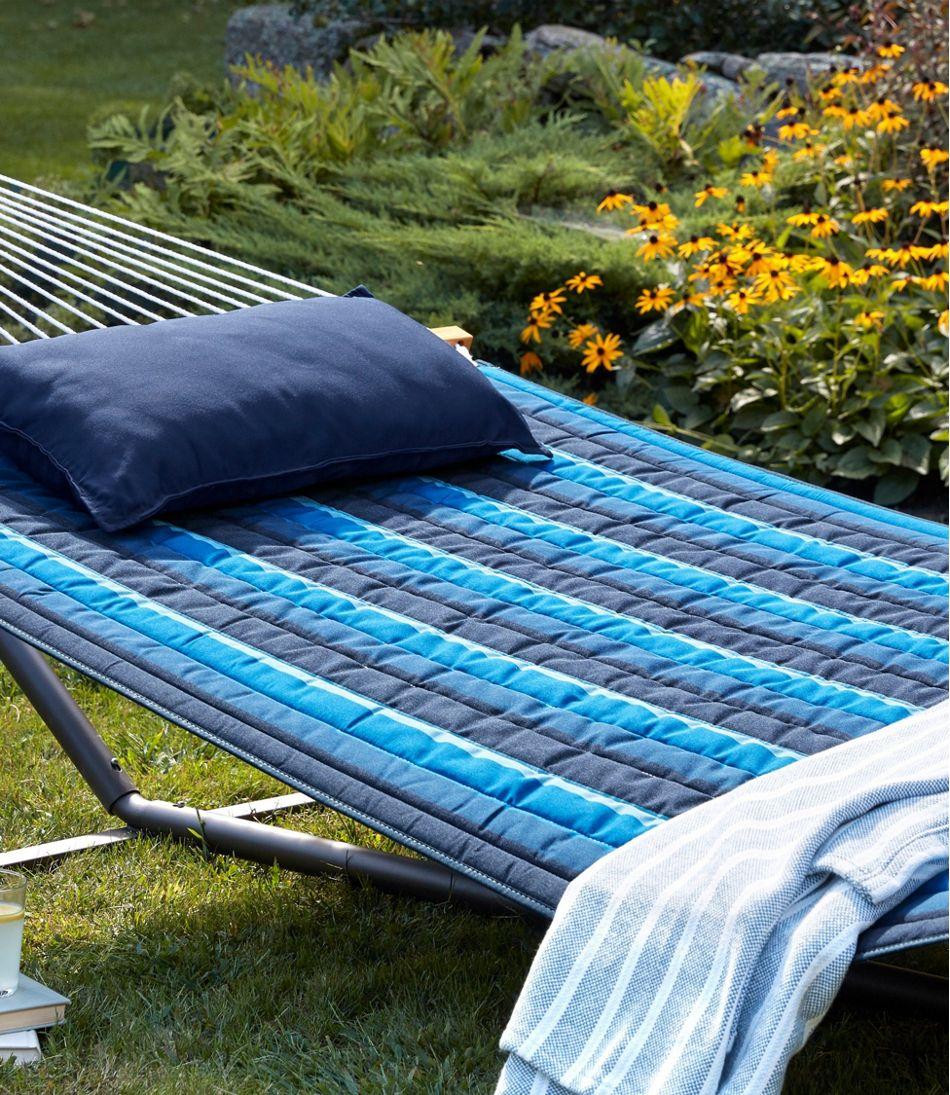 Quilted Sunbrella Hammock, Stripe