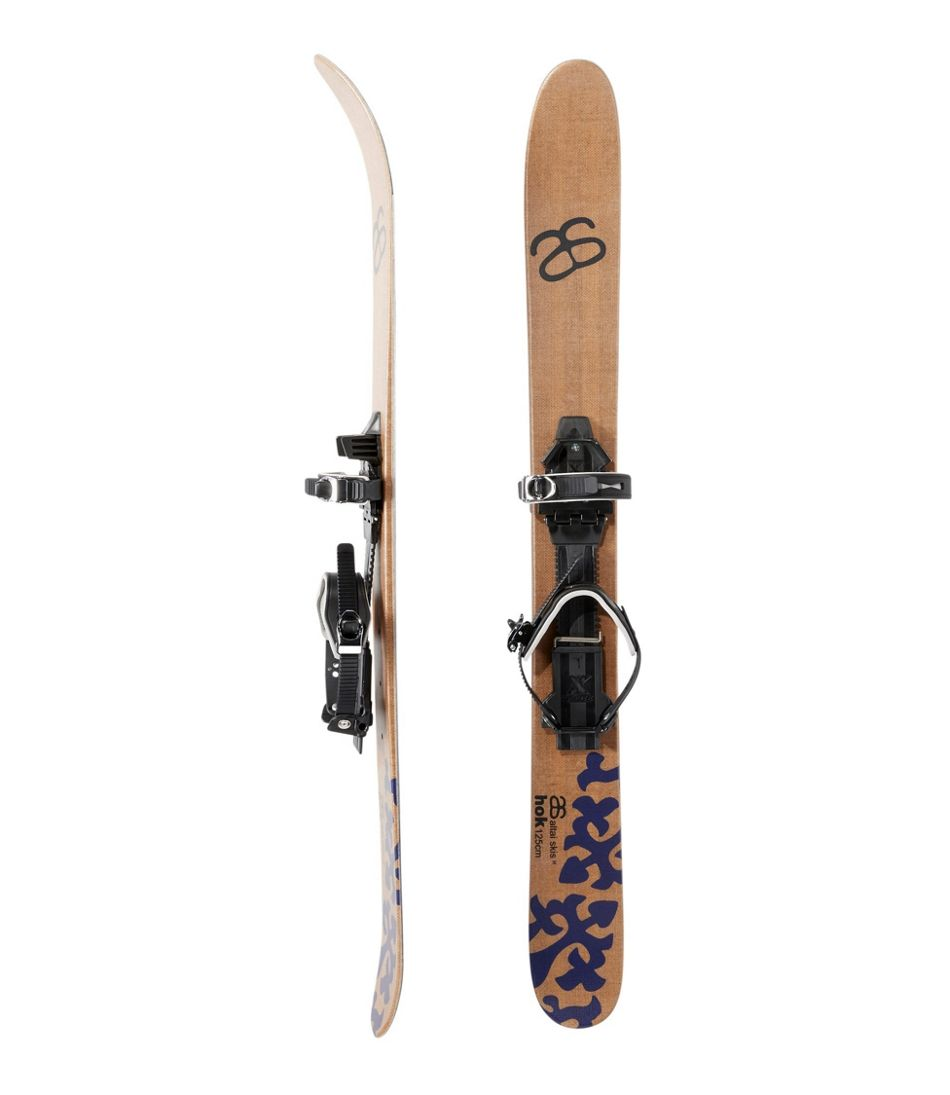 Adults' Altai Hok Skis with Universal Bindings