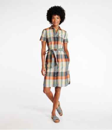 Women's Signature Shirt Dress, Pattern
