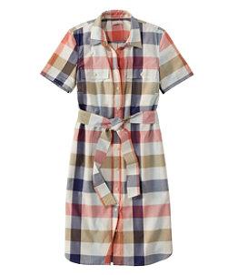 Women's Signature Shirt Dress, Pattern