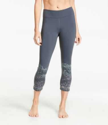 Women's Boundless Performance Capris, Graphic