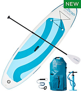 L.L.Bean Bayside Inflatable Stand-Up Paddleboard Package, 11'