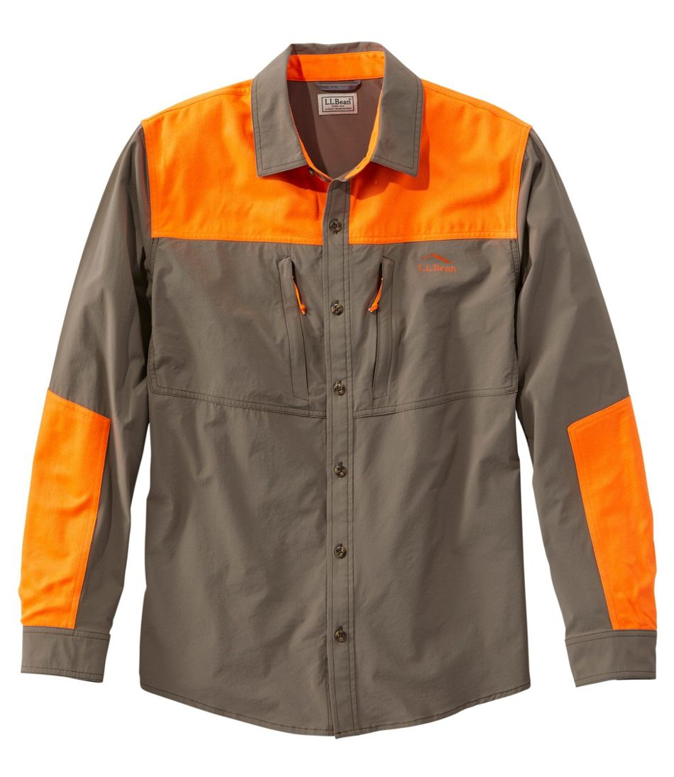 Men's Technical Stretch Upland Shirt with No Fly Zone
