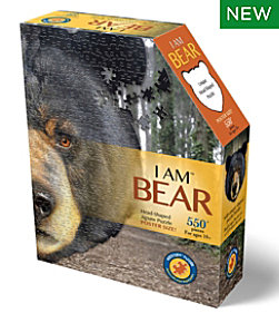 Poster Size Bear Puzzle, 550 Pieces
