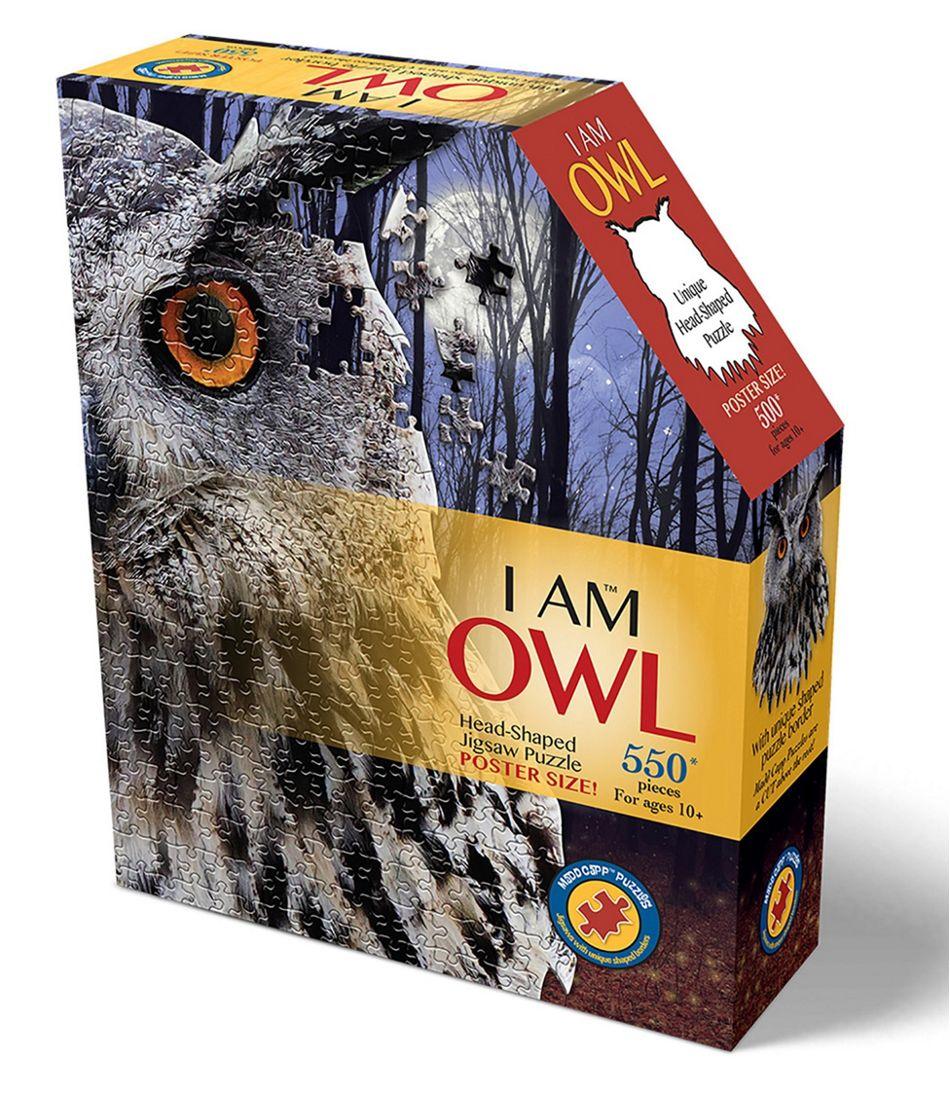 Poster Size Owl Puzzle, 550 Pieces